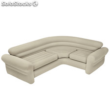 Sofa hinchable rinconero Intex 257X203X76 cm