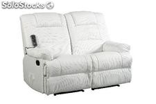 sofa massagem Venecia 2-3 plazas Blanco