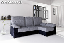 Sofa oferta madrid chaiselongue reversible envio gratis