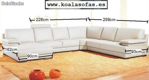 Sofa rinconera modelo 2227 al por mayor for Sofas rinconeras ikea