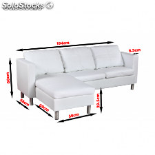Sofa sillon Chaiselonge de Ekopiel