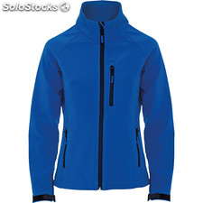 Soft shell Femme bleu royal casual collection invierno