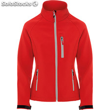 Soft shell Femme rouge casual collection invierno