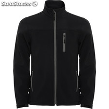 Soft shell Hombre m negro casual collection invierno