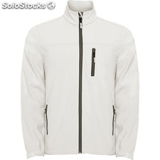 Soft shell Hombre xl blanco perla casual collection invierno