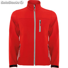 Soft shell Homme rouge casual collection invierno