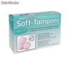 Soft-tampons, mini dry pack 10