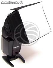 Softbox for speedlite flash 90x90mm (EE96)