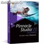 Software de edicion de video pinnacle studio V20 ultimate