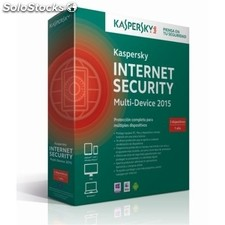 Software KASPERSKY Internet Security MD 2015 3 licencias de 1 año