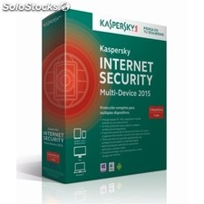 Software KASPERSKY Internet Security MD 2015 5licencias de 1 año