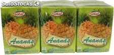Solal abc ananas 6X20CL + paille