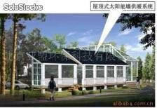 Solar water heaters made in Beijing