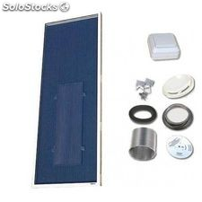 Solarventi sv14 negro kit de montaje en pared y switch incluido