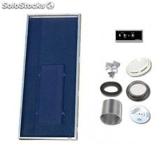 Solarventi sv20 alu. kit de montaje en pared y regulador 1 - 3,4w