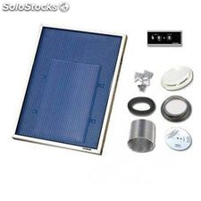 Solarventi sv3 negro kit de montaje en pared y switch incluido