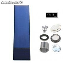 Solarventi sv30e aluminio - kit de montaje en pared, regulador