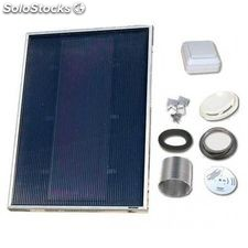 Solarventi sv7 negro kit de montaje en pared y switch incluido