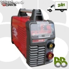Soldador inverter premium tec 200 digital