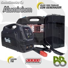 Soldador inverter zeustig 200mp
