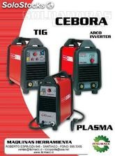 SOLDADORA CEBORA POWER TIG INVERTER 1540 DC HF -