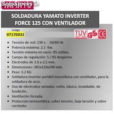 Soldadura Inverter Force 125 80 A.