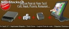 Solution americaine point de vente tactile