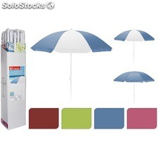 Sombrilla playa 180CM - 4 colores surtidos - aquapro - 8719202069884 -