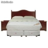 Sommiers cic Box Spring 2 pl. base dividida Allegro + Textil + Muebles Diplomat