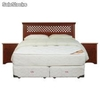 Sommiers cic Box Spring 2 pl. base dividida Allegro + Textil + Muebles Florencia