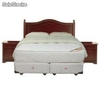 Sommiers cic Box Spring King Allegro + Textil + Muebles Diplomat