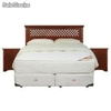Sommiers cic Box Spring King Allegro + Textil + Muebles Florencia