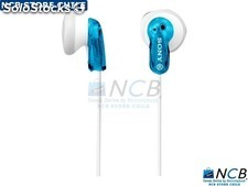 Sony Audifono E9Lp Color Azul 13.5Mm Cable y 1.2M 3.5Mm