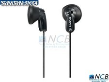 Sony Audifono E9Lp Negro 13.5Mm Cable y 1.2 m 3.5Mm