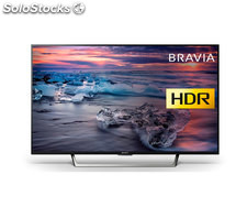 "Sony KD43XE7096BAEP televisor 43"" lcd led 4K hdr 400HZ smart tv linux"