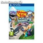 Sony phineas and ferb: day of doofenshmirtz, playstation vita, playstation vita,