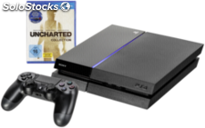 Sony Playstation 4 500GB black Uncharted Collection USK 16