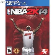 Sony playstation 4 nba 2K14.