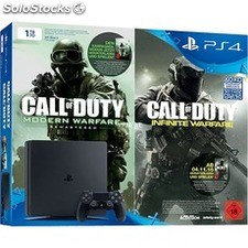 Sony PlayStation 4 Slim 1TB+Doble Call Of Duty envio gratis