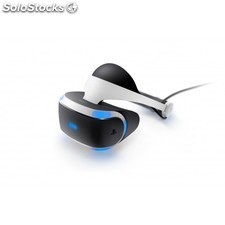 Sony - PlayStation VR Dedicated head mounted display 610g Negro, Color blanco