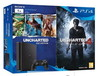 sony ps4 1TB negra+ Uncharted4 + uncharted collection envio gratis