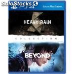Sony the heavy rain & beyond: two souls collection, PS4, playstation 4,