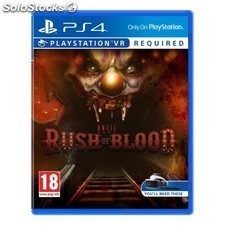 Sony - Until Dawn: Rush of Blood VR, PS4 Básico PlayStation 4 Español vídeo