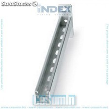 Soporte de pared 41 x 41 x 150 zincado - INDEX - Ref:SPX414115