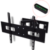 Soporte inclinable 3D y giratorio de pared para TV con 2 brazos