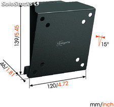 Soporte pared inclinable para led vogel's wall-1015