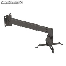 Soporte proyector pared orientable TOOQ inclinable-extens. NegRO