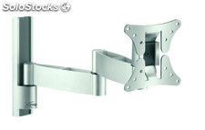 Soporte tv pared orientable vogel's VFW426 plata