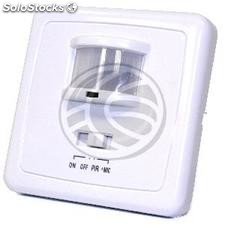 Sound and motion infrared detector for wallmount (NG94)