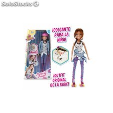 Soy Luna Fashion Doll Colgante + Patines + Casco